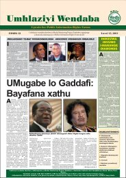 News Monitor 12- Ndebele.pdf - Media Monitoring Project of ...