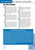 Kapstadt auf dem Weltgipfel - Agenda 21 - Partnerschaft Aachen ... - Seite 6