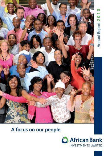 Full report - PDF 1.9MB - African Bank