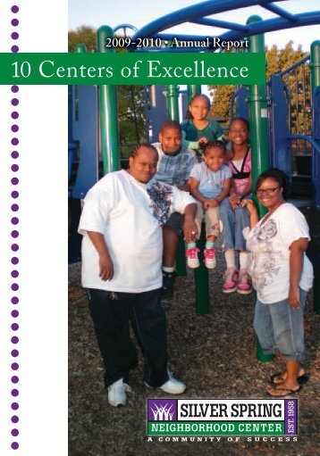 10 Centers of Excellence - Silver Spring Neighborhood Center