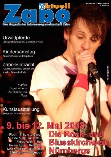 9. bis 12. Mai 2008 Die Rock - Zabo Aktuell