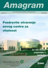 Pozdravite otvaranje novog centra za vitalnost - Amway Wiki