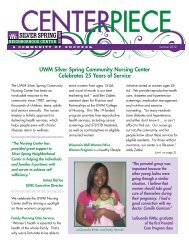COMMUNITY LEARNING CENTERS (CLCs) - Silver Spring ...