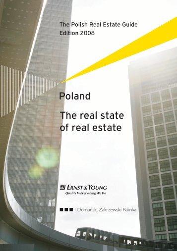 Poland The real state of real estate - Domański Zakrzewski Palinka