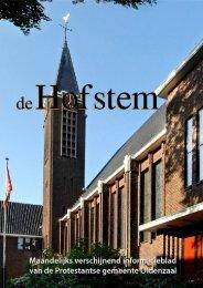 Hofstem oktober 2012 - Protestantsekerk.net