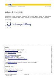 IJIE - International Review of Information Ethics