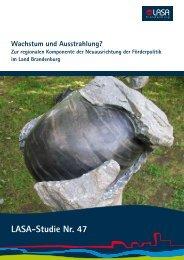 Literatur- und Quellenverzeichnis - LASA Brandenburg GmbH