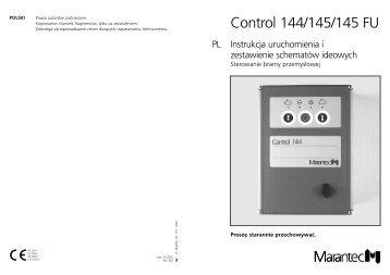 Control 144/145/145 FU - Marantec