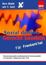 Sozial denken Sozial denken Gerecht handeln - SPD Stadtverband ...
