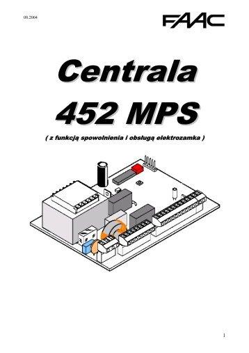 Centrala 452 MPS - Faac