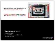 Titel der Präsentation, Arial Bold, 30 pt, Zeilenabstand (ZAB) 1 Zeile