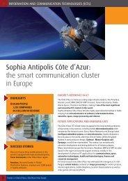 Sophia Antipolis Côte d'Azur: the smart ... - Team Côte d'Azur