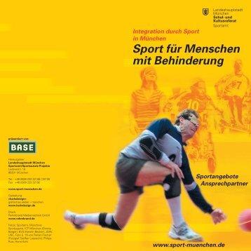 Sport für Menschen mit Behinderung - Userpage