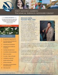 here - First Nations (Alberta) Technical Services Advisory Group