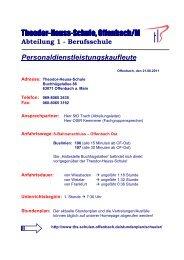 Abteilung 1 - Theodor-Heuss-Schule
