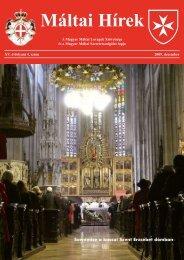 2009. november 13. - Magyar Máltai Szeretetszolgálat