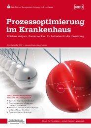 Prozessoptimierung im Krankenhaus - Jaros & Koch