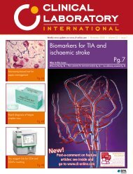 Biomarkers for TIA and ischaemic stroke Pg.7 - CLI Online