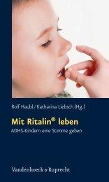Mit Ritalin leben - E-cademic