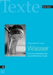 Wasser - Rosa-Luxemburg-Stiftung