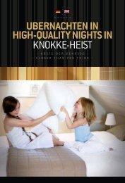 ubernachten in high-quality nights in knokke-heist - Presse