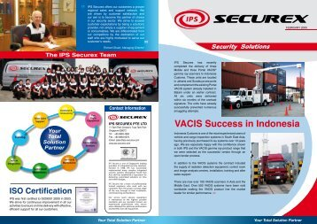 VACIS Success in Indonesia - IPS Securex