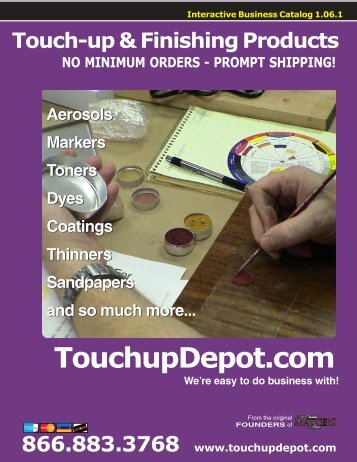 TouchupDepot.com - Wood Finisher's Depot