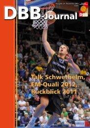 DBB-Journal - Deutscher Basketball Bund
