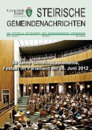 land & gemeinden - Steiermärkischer Gemeindebund - Steiermark