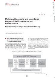 genetische Diagnostik bei Parodontitis und ... - Implant Expo