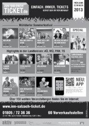 Gesellschaft und Leben - Volkshochschule Mühldorf a. Inn