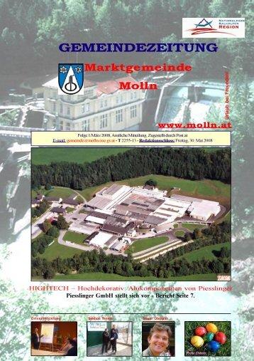 Ausgabe 1/März 2008 - Molln