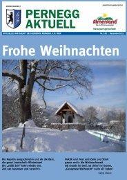 Frohe Weihnachten - Gemeinde Pernegg