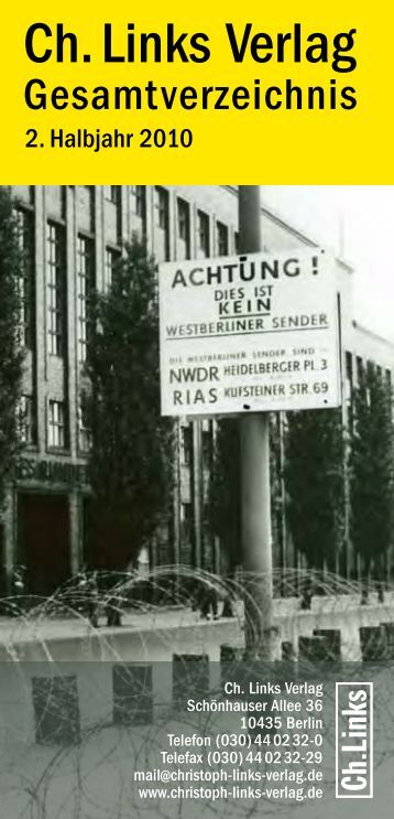 Ch. Links Verlag