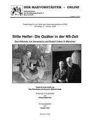 Stille Helfer: Die Quäker in der NS-Zeit