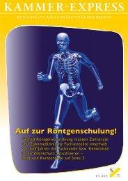 Zahn rein! Zur Zahnrettung - Zahnärztekammer Bremen