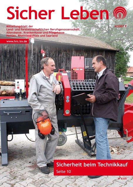 Sicherheit beim Technikkauf - Die Landwirtschaftliche ...