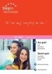 Au-pair Demi-pair - Stepin