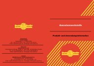 Gusseisenwerkstoffe - Castolin Eutectic