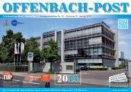 OFFENBACH-POST - pms-tz.de
