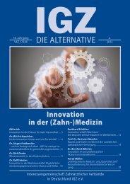 Ausgabe 2-2012 - IGZ
