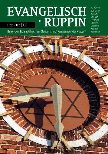 dezember januar - Kirchenkreis Wittstock-Ruppin
