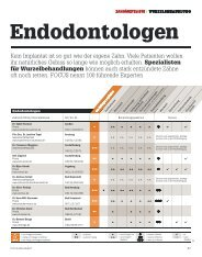 TOP-Endodontologen - Zahnarztpraxis Dr. Thomas Hacker