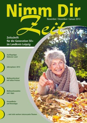 Zeitschrift für die Generation 50+ im Landkreis ... - Druckhaus Borna