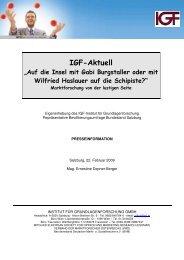 Schipisten-Index - IGF