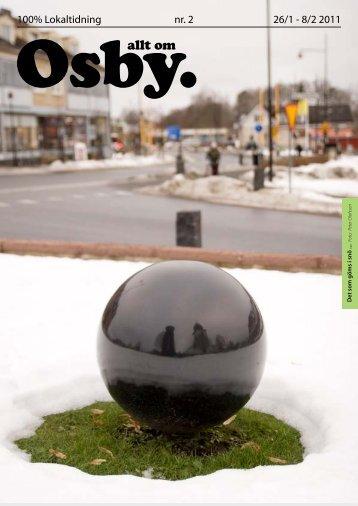 26/1 - 8/2 2011 100% Lokaltidning nr. 2 - Allt om Osby