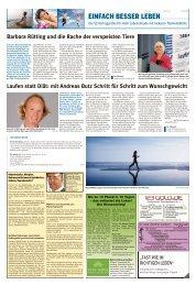 mit Andreas Butz Schritt für Schritt zum Wunschgewicht