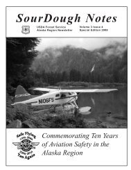 SourDough Notes - USDA Forest Service - US Department of ...