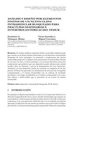 Análisis y diseño por elementos finitos - INABIO