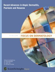 focus on dermatology - Skin Therapy Letter